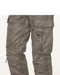 Ralph Lauren Black Label Denim Coated Military Cargo Pant