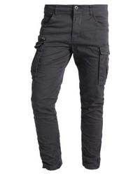 Jack & Jones Jjipaul Jjchop Asphalt Cargo Trousers Asphalt