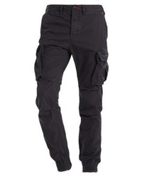 Superdry Rookie Grip Cargo Trousers Volcanitic Grey