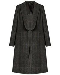 Charcoal Check Coat