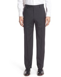 Zanella Devon Classic Fit Check Wool Trousers