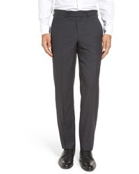 Ted Baker London Livingstoneflat Front Check Wool Trousers