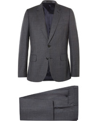 Paul Smith London Grey Soho Slim Fit Checked Wool Suit