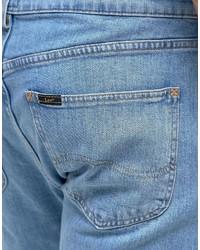 08755fea Lee Arvin Chino Jeans Regular Tapered Fit Bleached Stone Wash, £101 ...