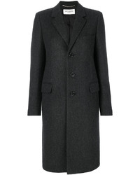 Saint Laurent Classic Chesterfield Coat