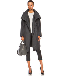 Nina Ricci Manteau Wool Blend Coat