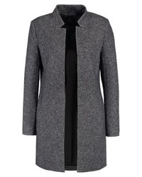 Onlsoho classic coat dark grey melange medium 4000115