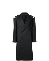 Maison Margiela Oversized Slash Detail Coat