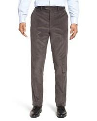 Charcoal Corduroy Dress Pants
