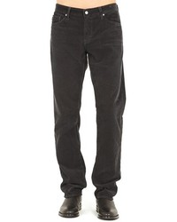 Charcoal Corduroy Jeans