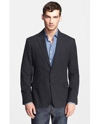 Charcoal Cotton Blazer