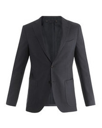 Brooks Brothers Single Breasted Cotton Linen Blazer
