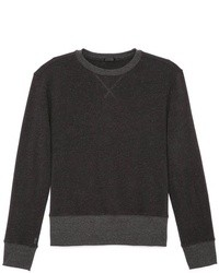 Charcoal crew neck sweater original 2158899