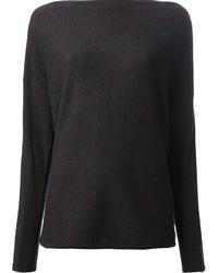 Ralph Lauren Black Cowl Neck Sweater
