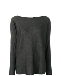 Snobby Sheep Boat Neck Jumper