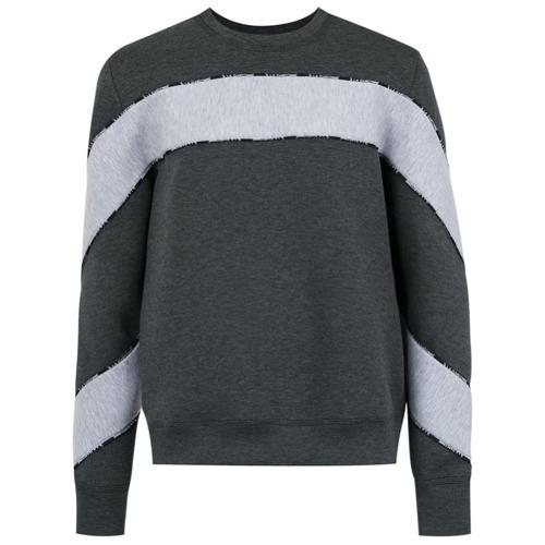 04d63734dc £637, À La Garçonne Foam Panelled Sweater