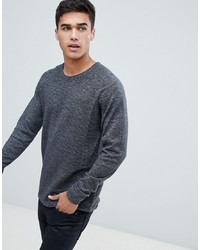 Selected Homme Knitted Jumper In Ribbed 100% Organic Cotton