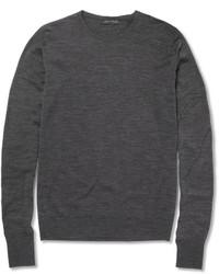 Marcus crew neck merino wool sweater medium 336354