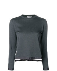 Thom Browne Sheer Back Sweater