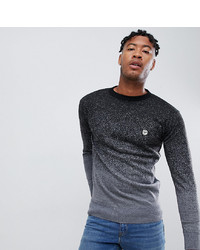 Le Breve Tall Fleck Marl Fade Out Knitted Jumper