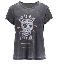 Print t shirt charcoal medium 3896582