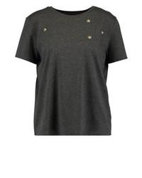 Print t shirt dark grey medium 3886352