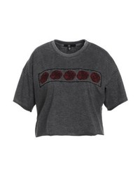 Rose print t shirt grey medium 4243009