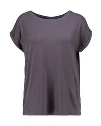 Vero Moda Vmaware Basic T Shirt Asphalt