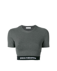 Paco Rabanne Cropped T Shirt
