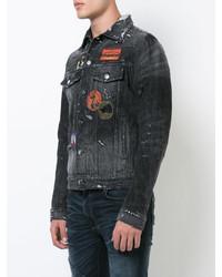 39d3d4d416 ... Amiri Distressed Denim Jacket