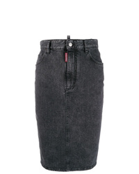 Dsquared2 Pencil Denim Skirt