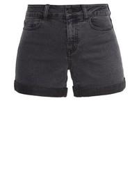 Nmbe lucy denim shorts dark grey denim medium 3935154