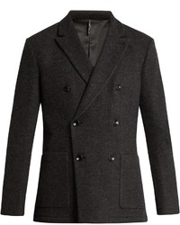Helbers Unconstructed Double Breasted Blazer