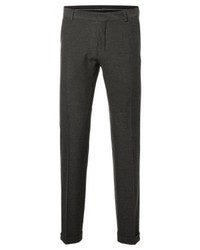 Suit trousers medium grey melange medium 4204805
