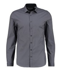 Bari slim fit formal shirt grey medium 4203806
