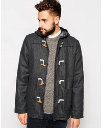 Barneys wool duffle coat medium 243026