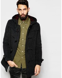 Men's Charcoal Duffle Coats by Gloverall | Men's Fashion