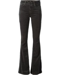 Charcoal Flare Jeans