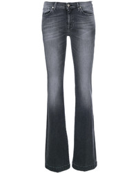 7 For All Mankind Stonewashed Bootcut Jeans