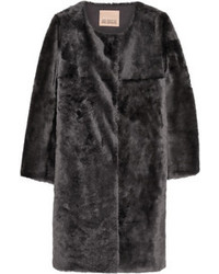 Shearling coat medium 97069