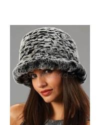 Charcoal Fur Hat