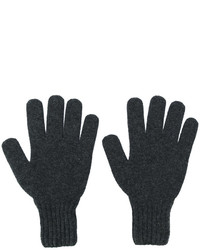 Drumohr Gloves With Ribbed Cuffs