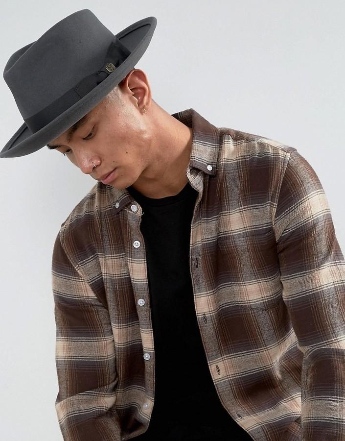 ... Brixton Swindle Fedora Hat ... 80c05c0dde1