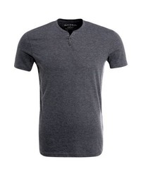 Celio Sebet Basic T Shirt Anthracite Chine