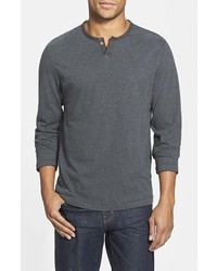 Surfside Supply Sean Trim Fit Cotton Henley