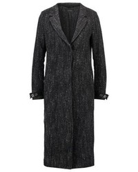 Lizzie classic coat dark grey heather medium 4000426