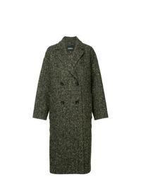 Goen.J Oversized Herringbone Coat