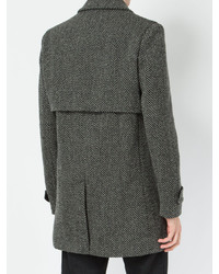 Saint Laurent Herringbone Coat