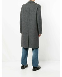 Harris Wharf London Herringbone Single Breasted Coat