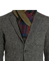 c5c7240993303 ... Beams Plus Harris Tweed Herringbone Blazer